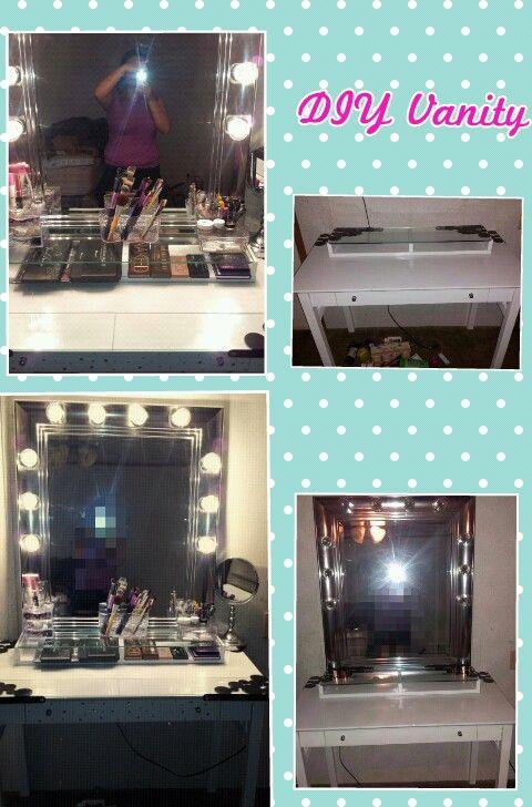 Desk 5 Ikea Shelf 14 99 Mirror Burlington Coat Factory 19 00 Vanity Lights Home Depot 9 99