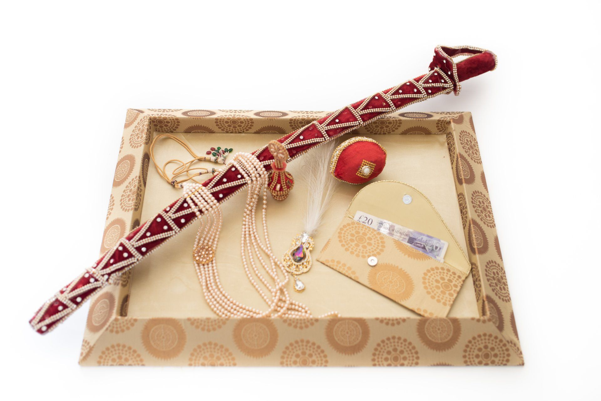 gift hamper tray indian wedding sehra groom gift from the