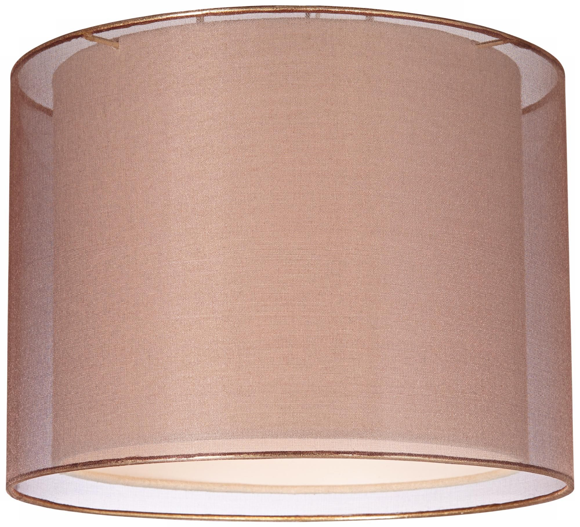 Sheer bronze double lamp shade 12x12x9 spider style 6r952 sheer bronze double lamp shade 12x12x9 spider aloadofball Gallery