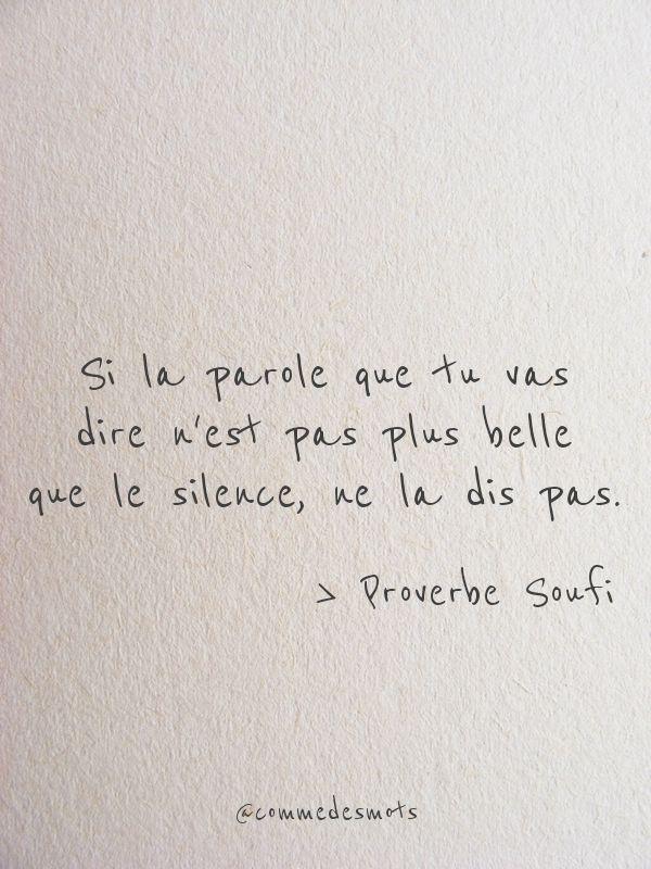 Parole De Je Ne Dirais Rien : parole, dirais, Parole, Citation,, Belles, Citations,, Phrase, Citation