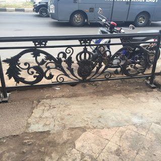 spesialis pembuatan balkon besi tempa klasik dengan