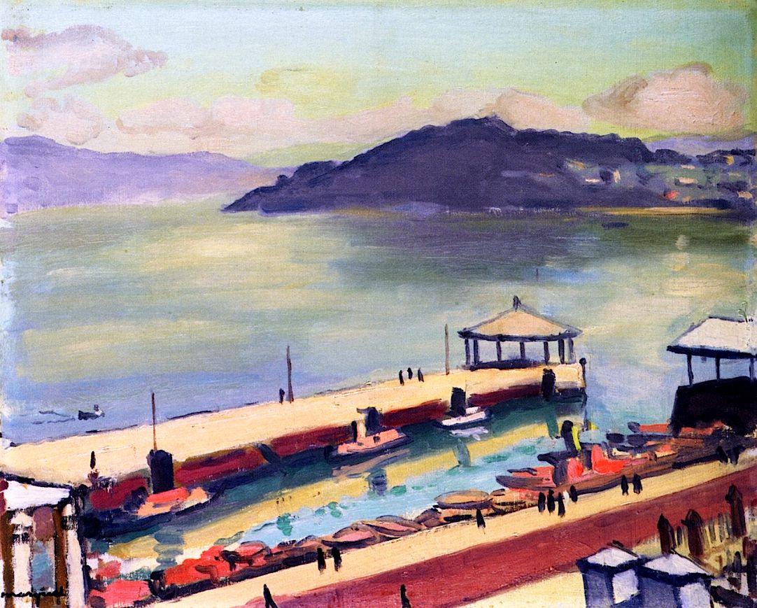 Vigo Bay in Sunlight / Albert Marquet - 1932