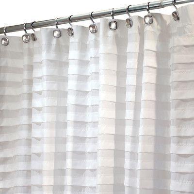 Interdesign Interdesign Shower Curtain White Shower Curtain