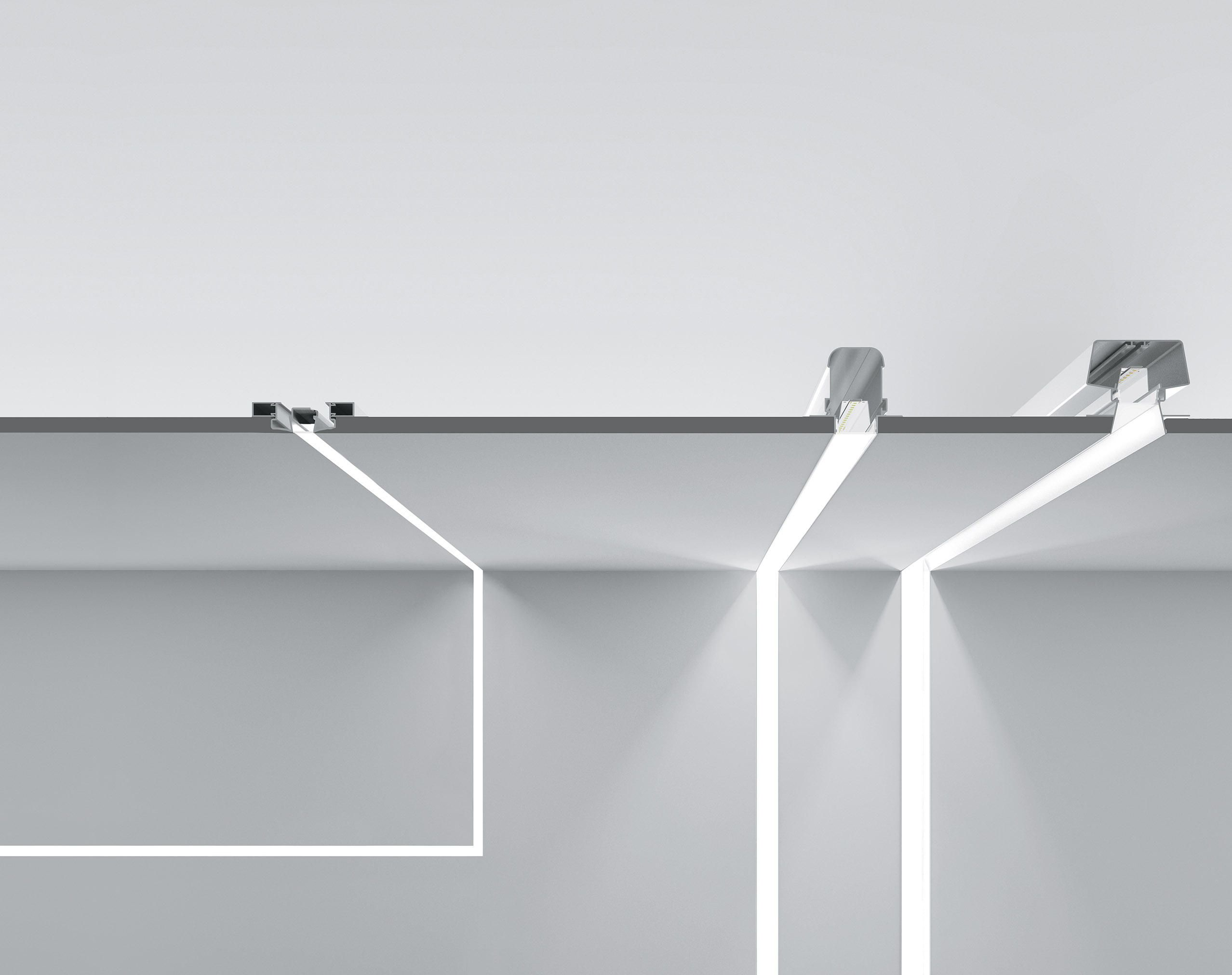 Fylo Profile Von Linea Light Group Architonic Recessed Wall Lights Lighting Design Interior Ceiling Design Modern