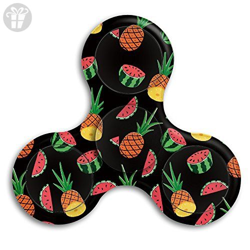 Fruits Pineapple Watermelon Hand Spinner Tri Spinner Fid Toy