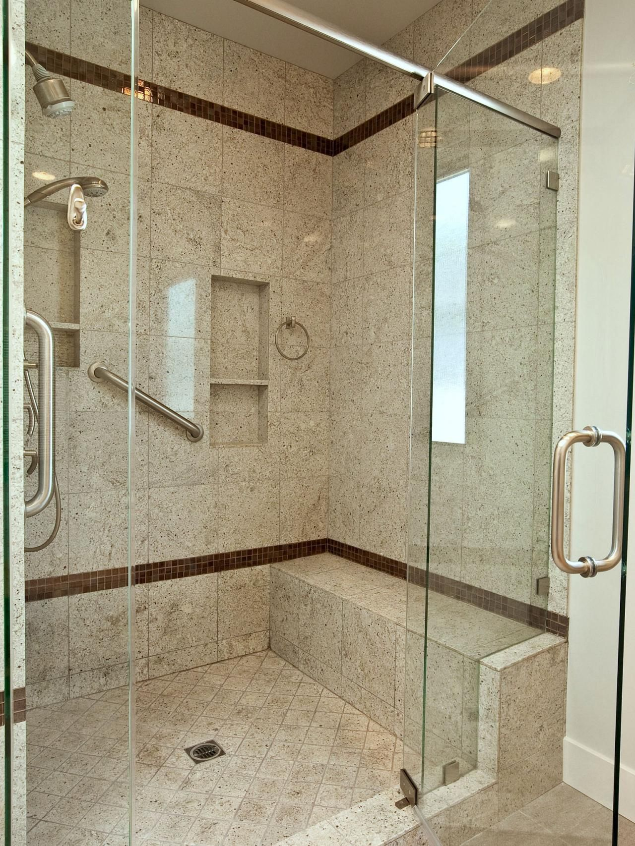 Gorgeous Tile Showers All Glass Doors Google Search Shower Designs
