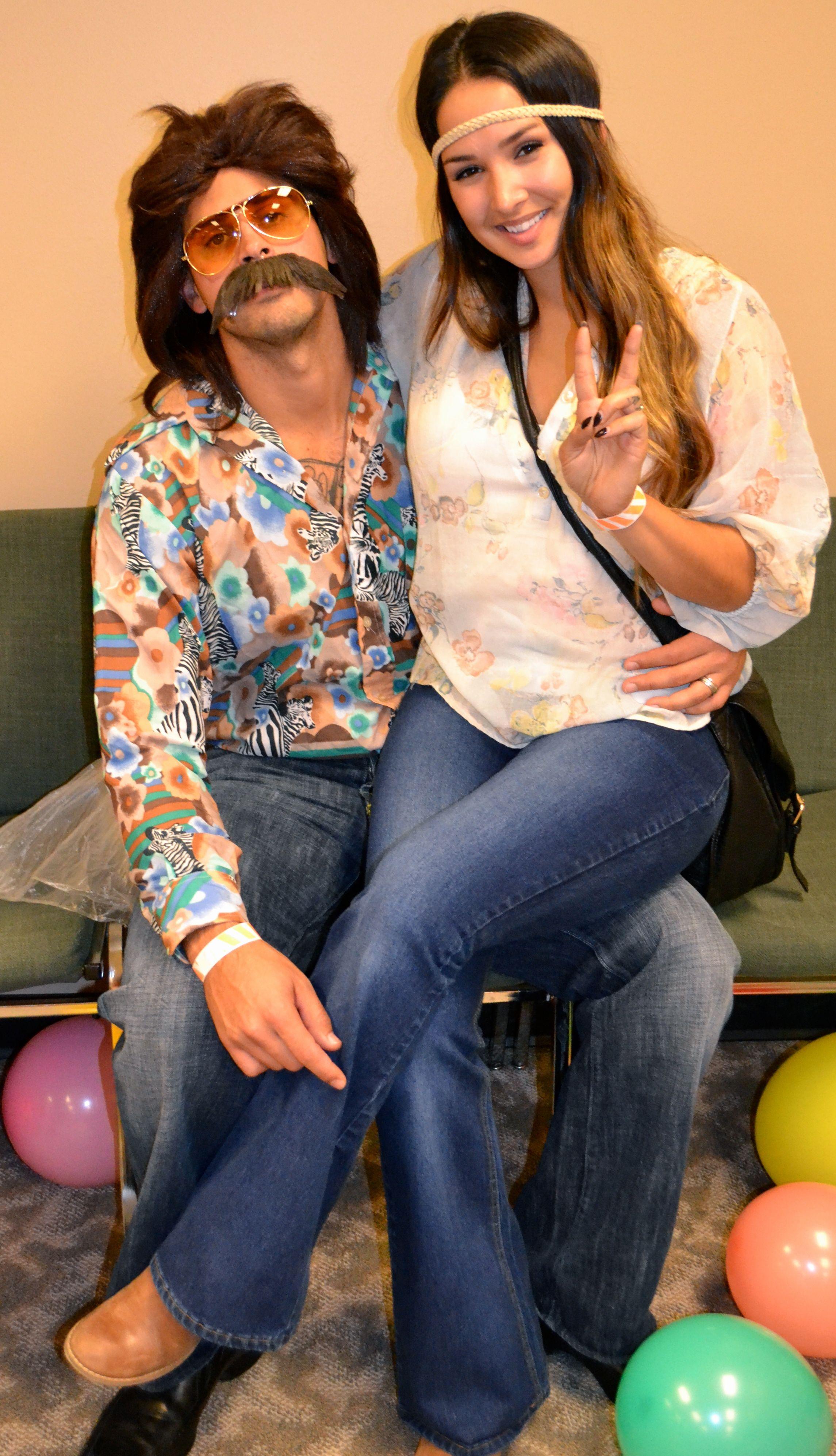 diy couples halloween costume hippies | diy Halloween costumes ...