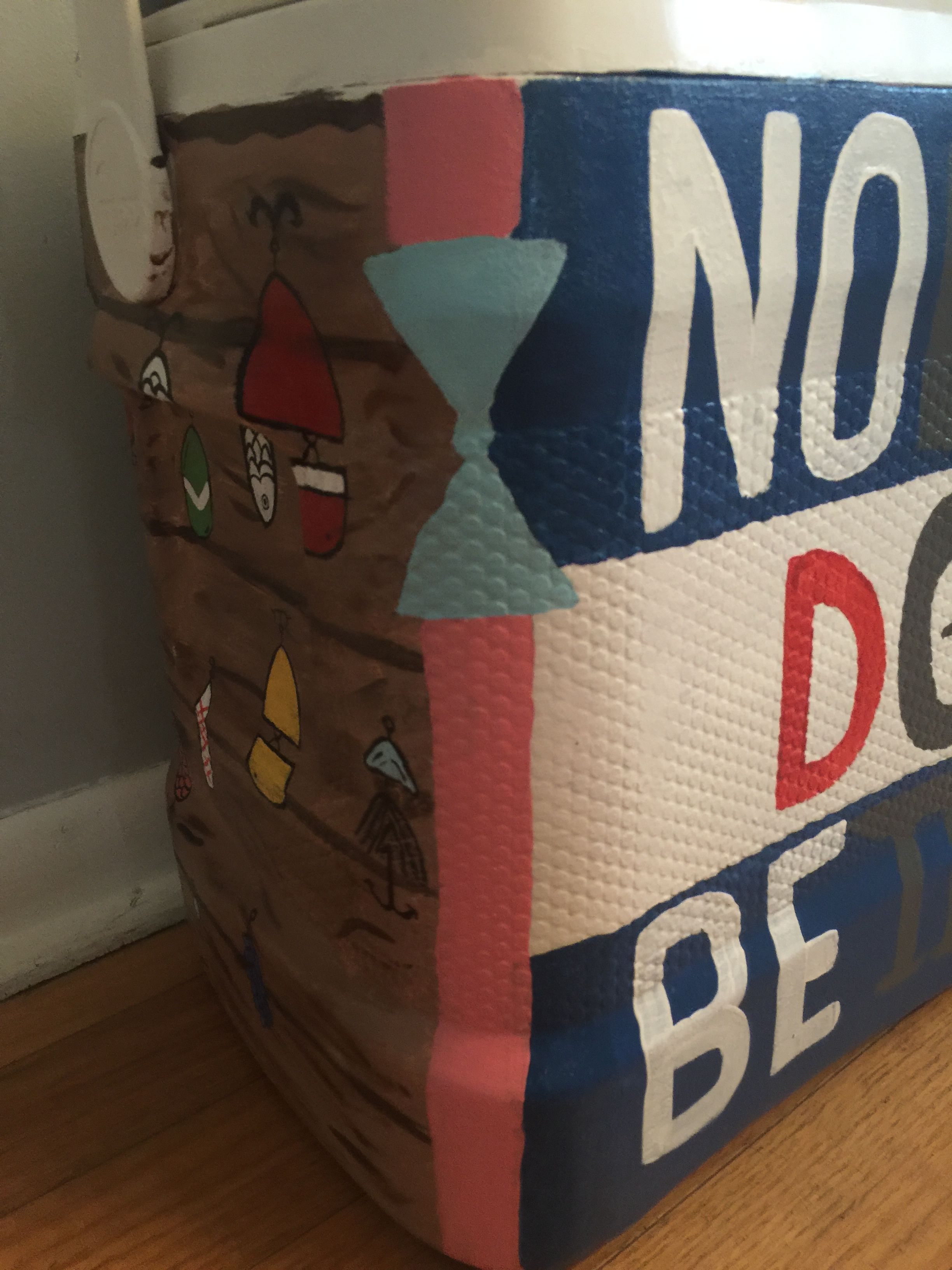 Pin by Sara Baker on Fraternity painted cooler Sports