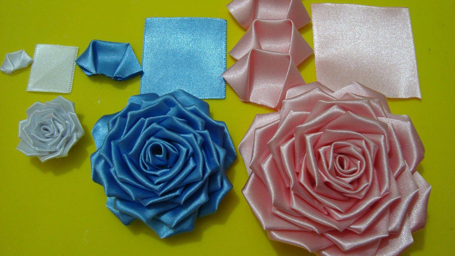 Flor de tecido - Parte 2 Final -  Aprenda a fazer a PÉTALA dessa Rosa li...