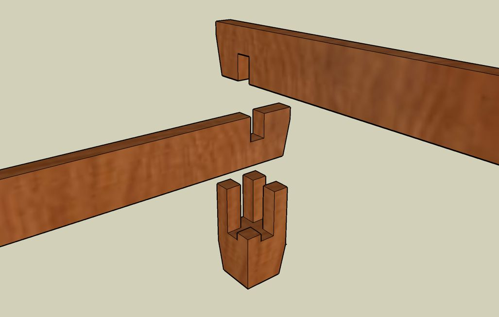 Japanese Bed The Sketchup Years Woodworking Joints Wood