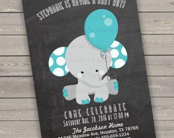 Elephant baby shower invitation boy chalkboard baby shower elephant baby shower invitation boy chalkboard baby shower invitations boy blue elephants baby 102 filmwisefo Gallery