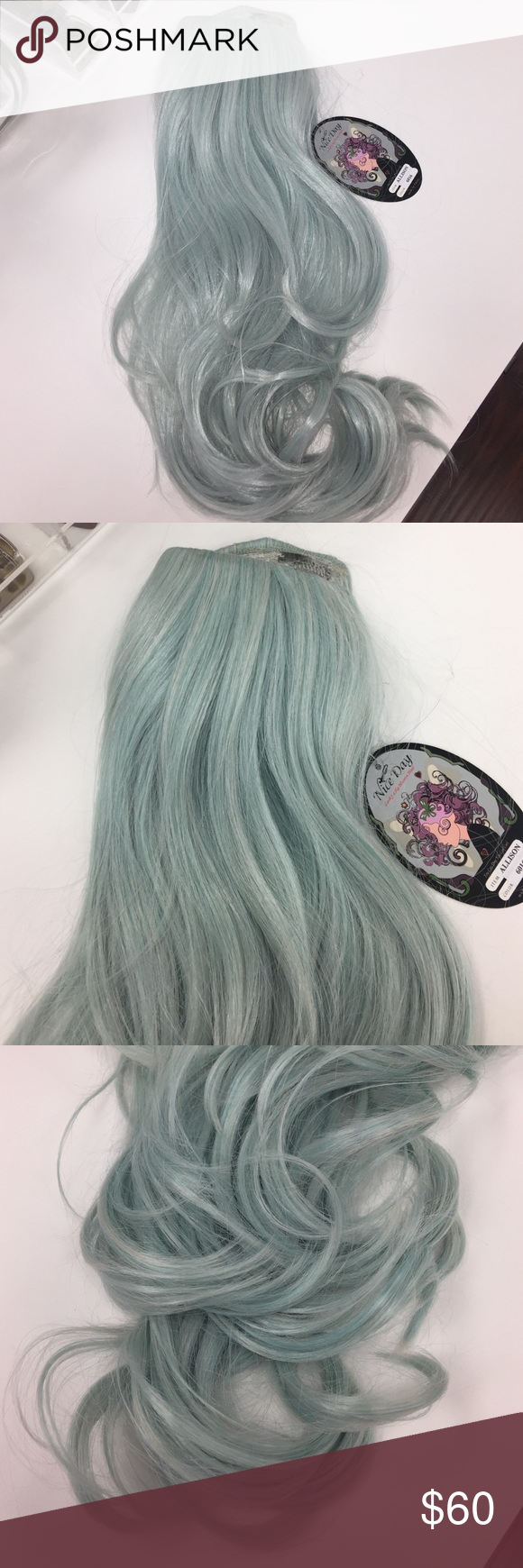 Mint Green Full Clip In Hair Extension Boutique My Posh Picks