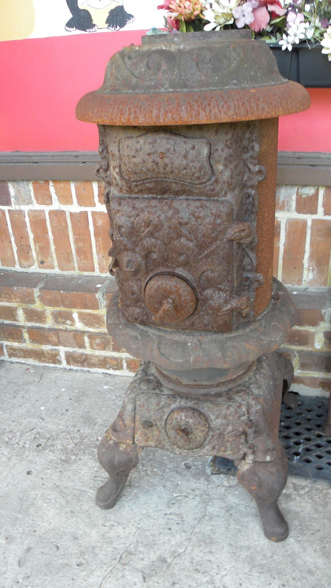 Pert Leader Southern Stove Works Evansville In Antique