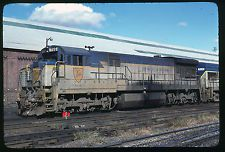 Original Rail Slide - D&H Delaware & Hudson #755 Oneonta 10-10-1981