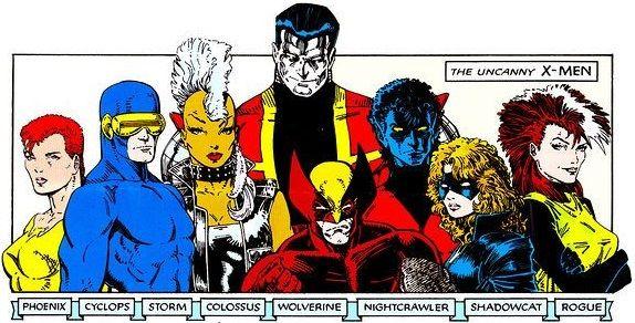 8cf0274ed49a2a5a29b1a586bc9fff19 Jpg 574 292 X Men Comic Books Art Marvel Comics Art