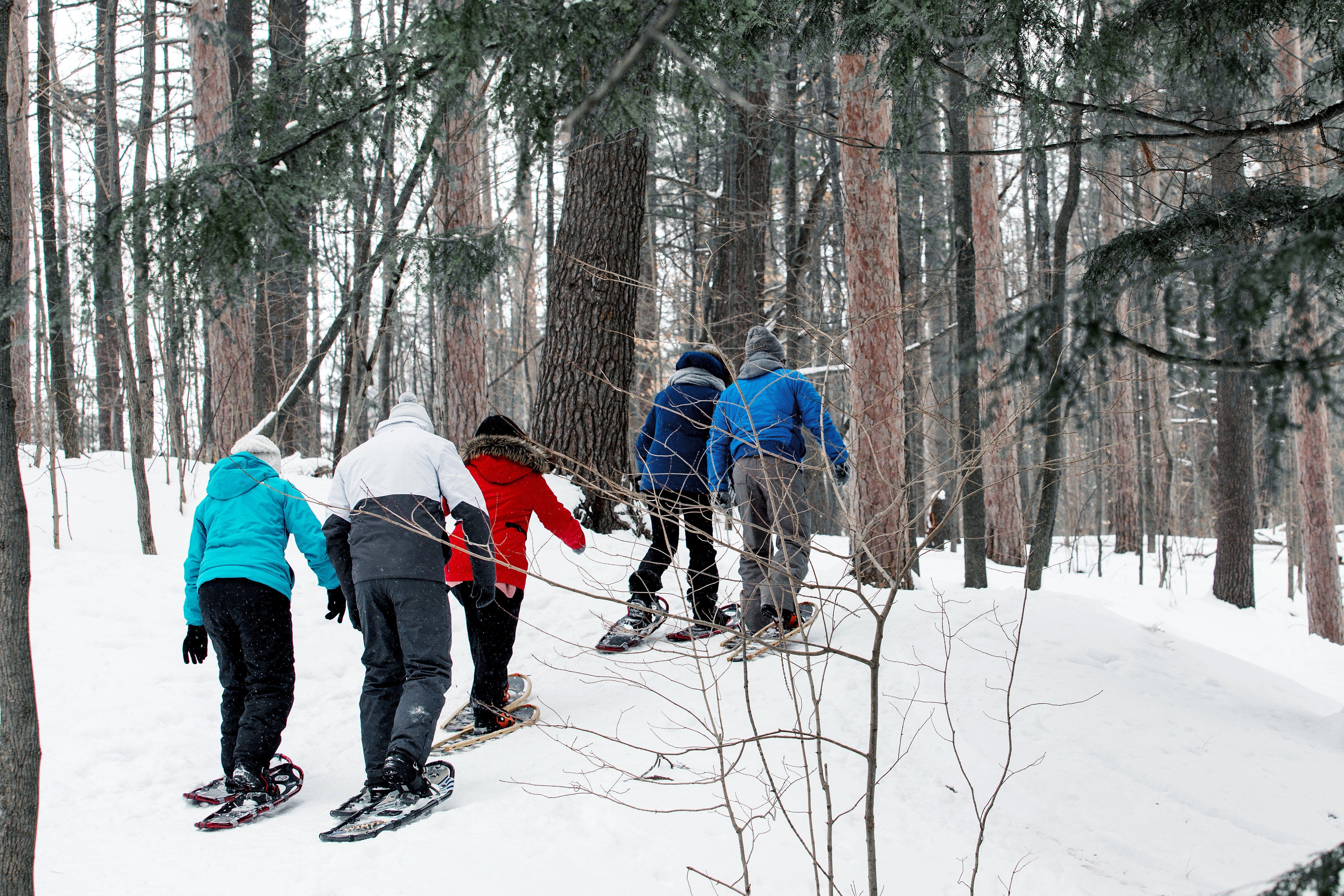 Outdoor Adventure Begins Here Come Snowshoe In Barrie Fun