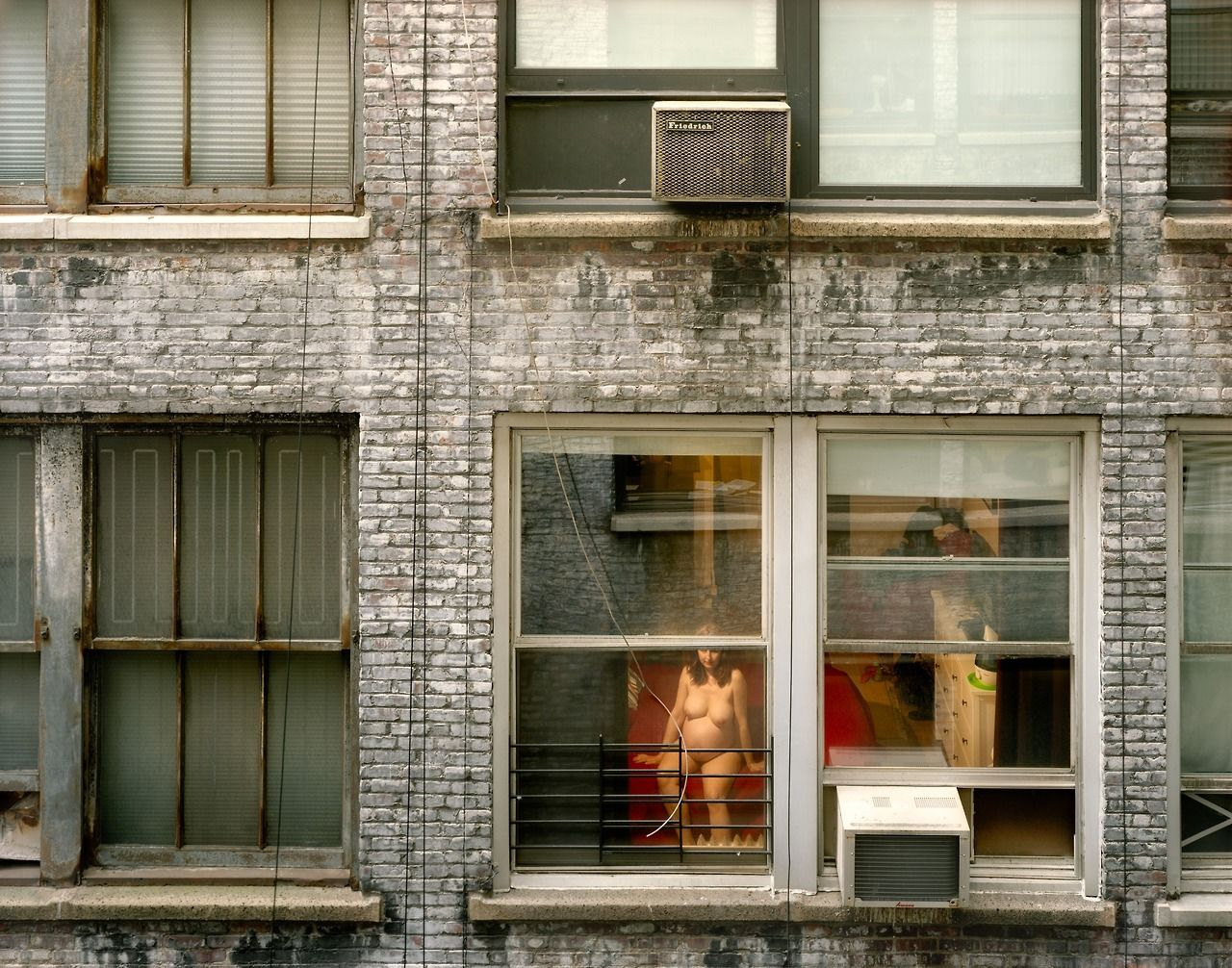 Gail Albert Halaban (American, b. 1970) Out My Window, Chelsea, Expecting, 2010
