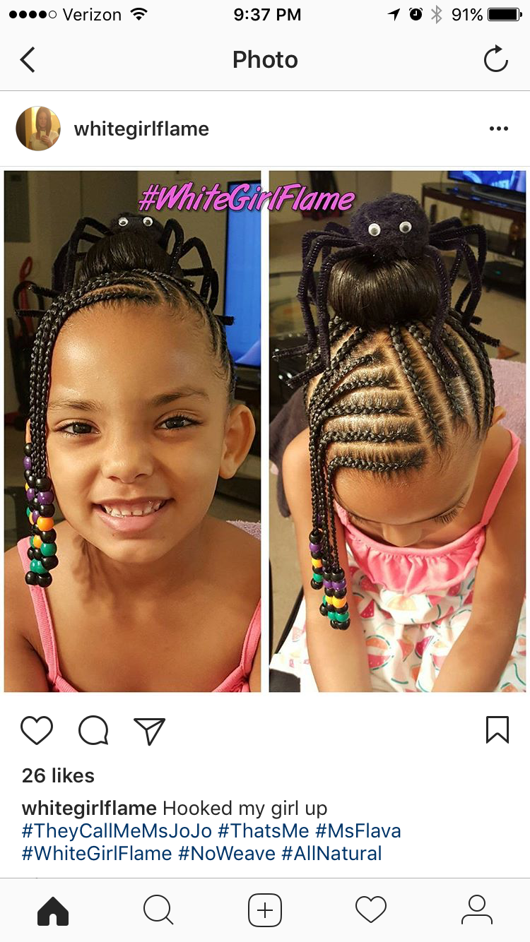 Braids | Kids hairstyles, Natural hairstyles for kids ...