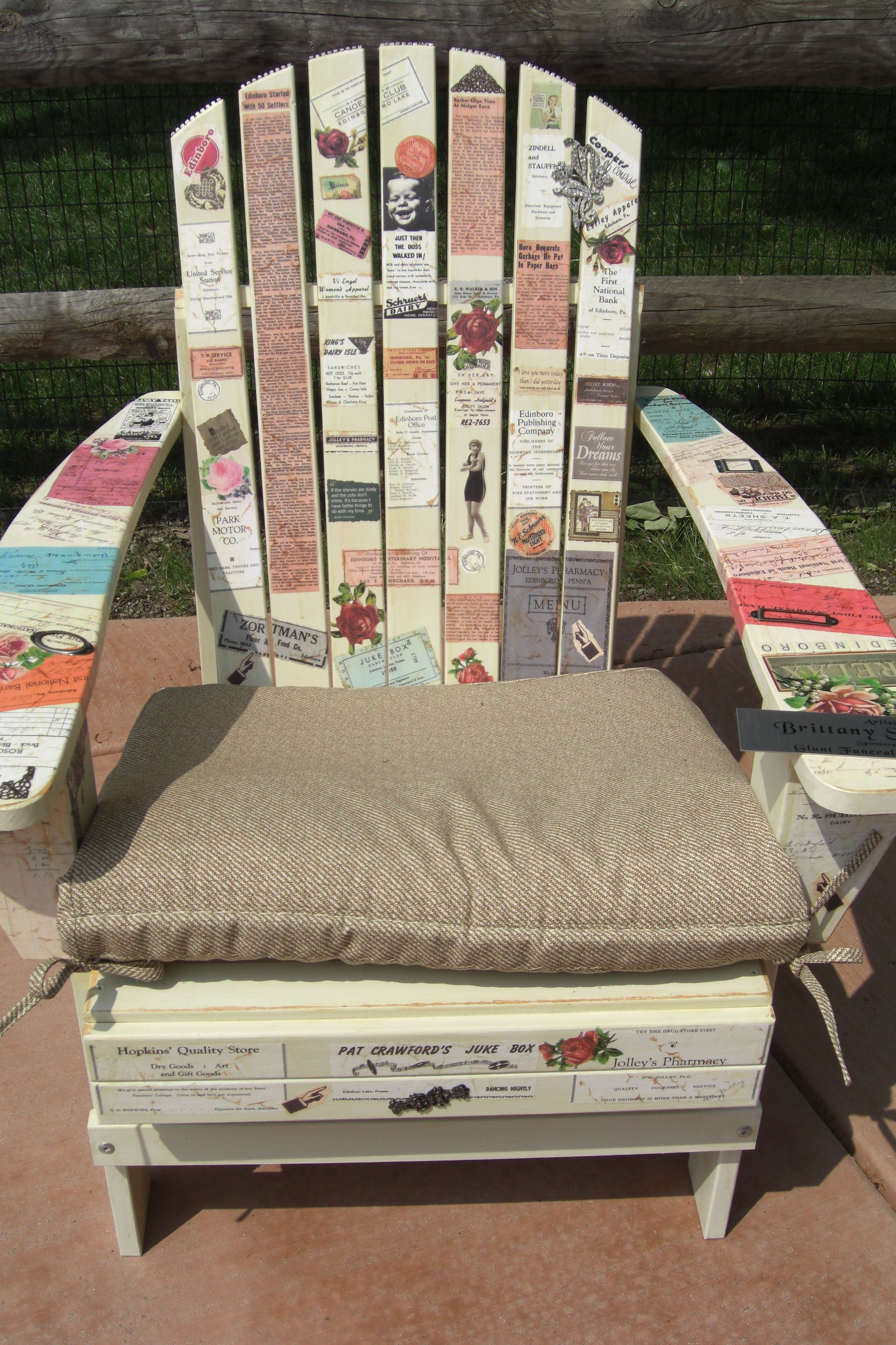 Ideas For Painting Adirondack Chairs Green Chair Cushions Painted Lakeside Home Association In