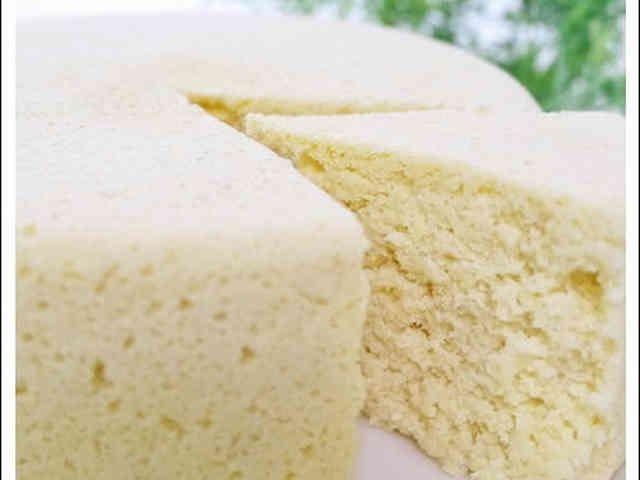 レンジdeおからとヨーグルトのケーキの画像