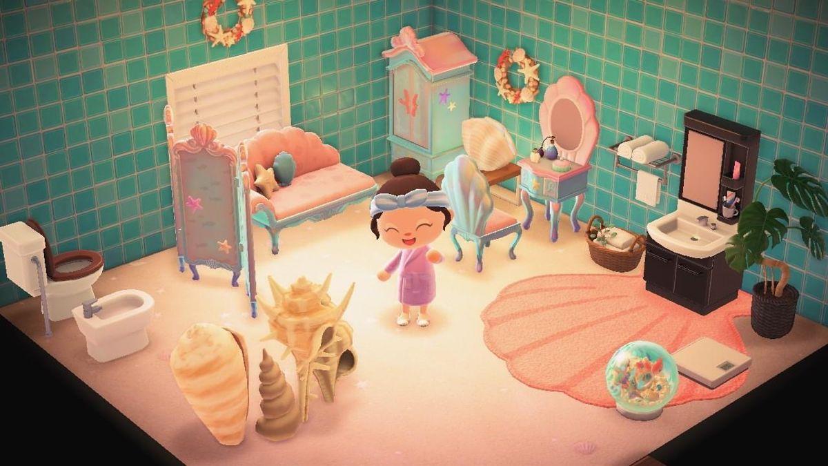Animal Crossing Mermaid Bathroom Animal Crossing Mermaid Bathroom Mermaid