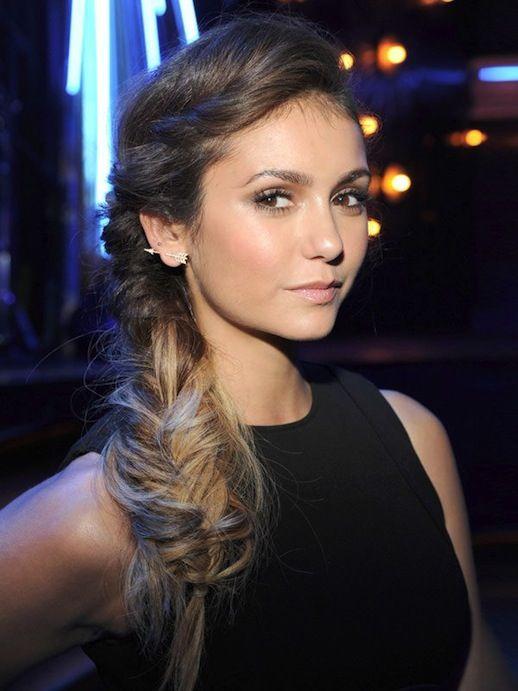 Le Fashion 30 Inspiring Fishtail Braids Nina Dobrev Hair Hair Styles Messy Fishtail Braids