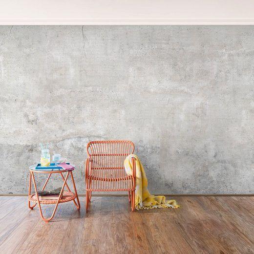 Wohnideen Vliestapete bilderwelten vliestapete premium breit shabby betonoptik