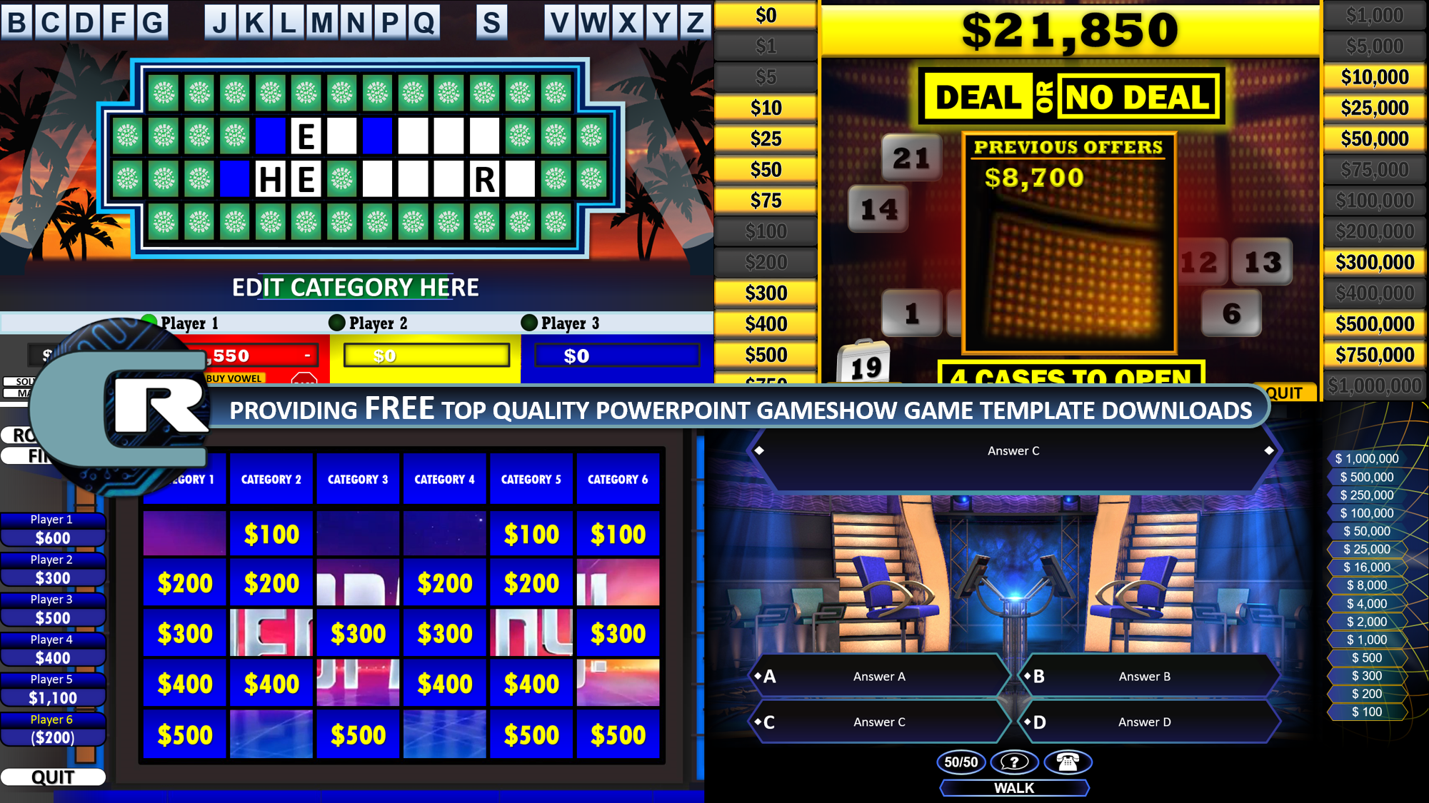 Download The Best Free Powerpoint Games Jeopardy Family