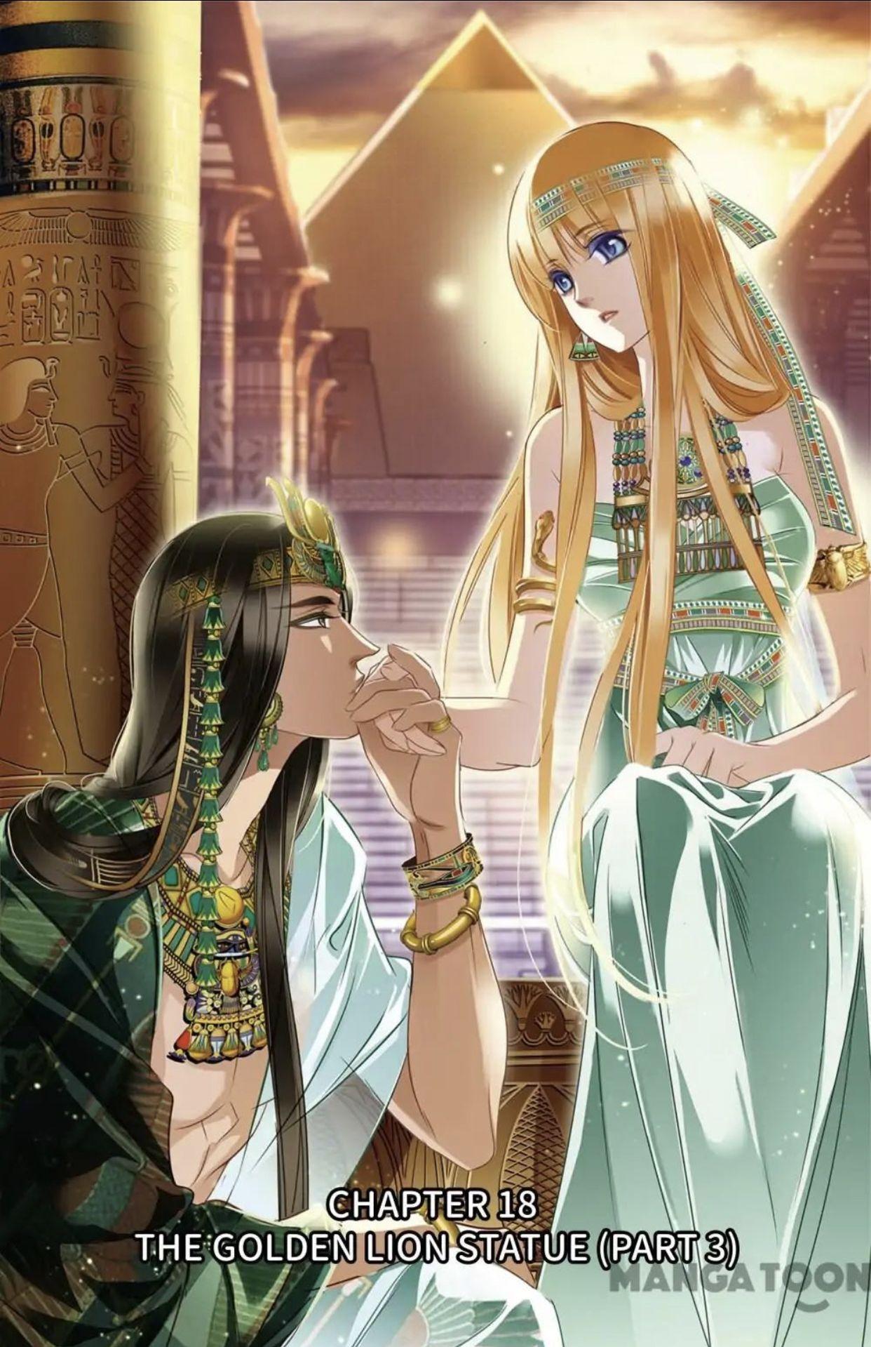 Pin on Pharaoh's Concubine Manga