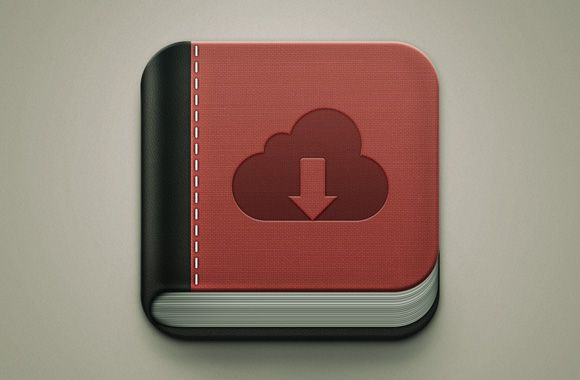Free Psd Book Icon Freebiesbug Book Icons Mobile App Icon App Icon