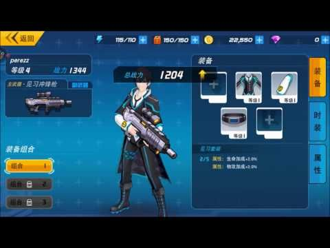 Genki-Himes 元气战姬学院 android game first look gameplay español