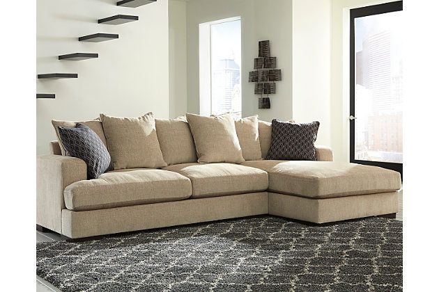 Fall In Love With The Aquaria Barley Sectional By Signature Design By Ashley  At Spokane Furniture Company. Proudly Serving The Spokane, Washington And  ...