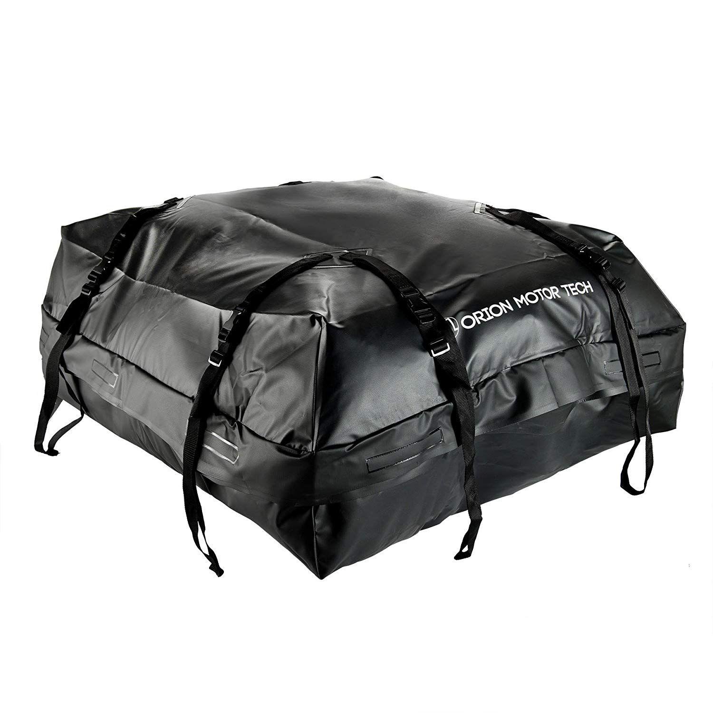 OrionMotorTech 15 Cubic Feet Waterproof Car Rooftop Cargo
