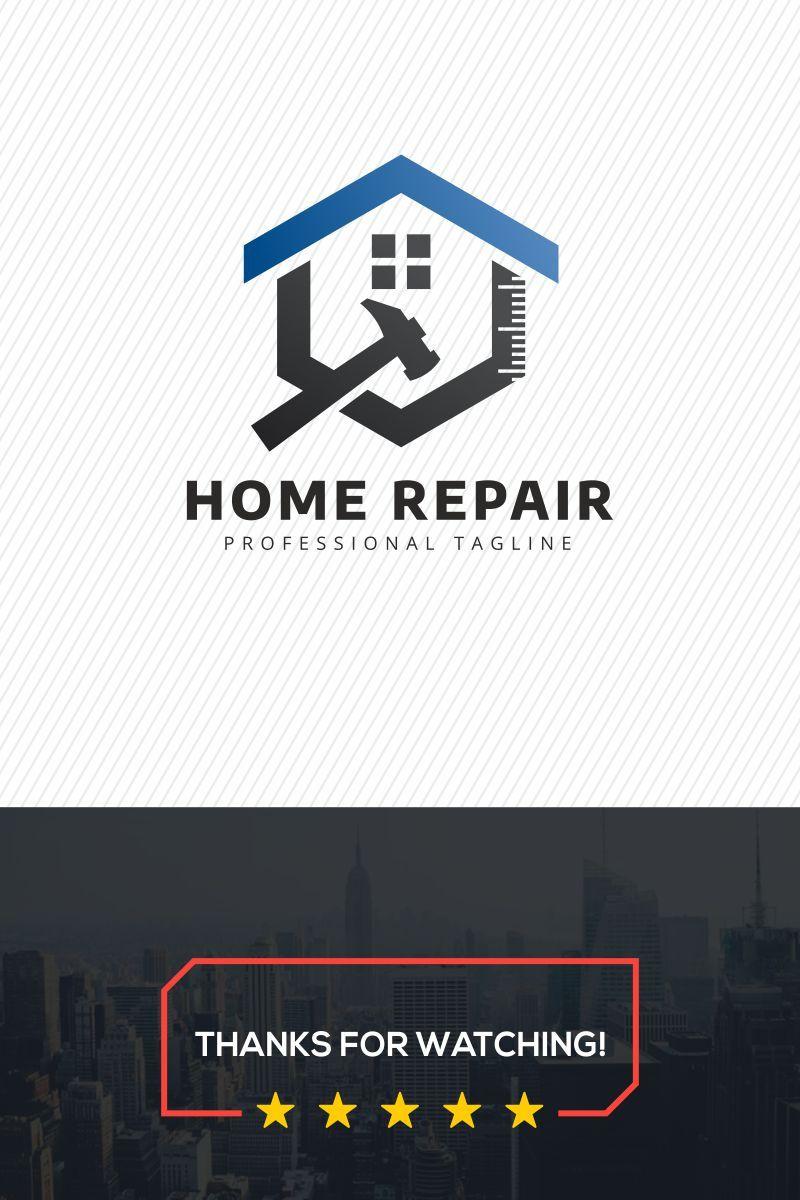 Home Repair Logo Template 78816 Logotipo De Empresa De Construccion Tarjetas De Presentacion Arquitectos Logotipos De Diseno Grafico