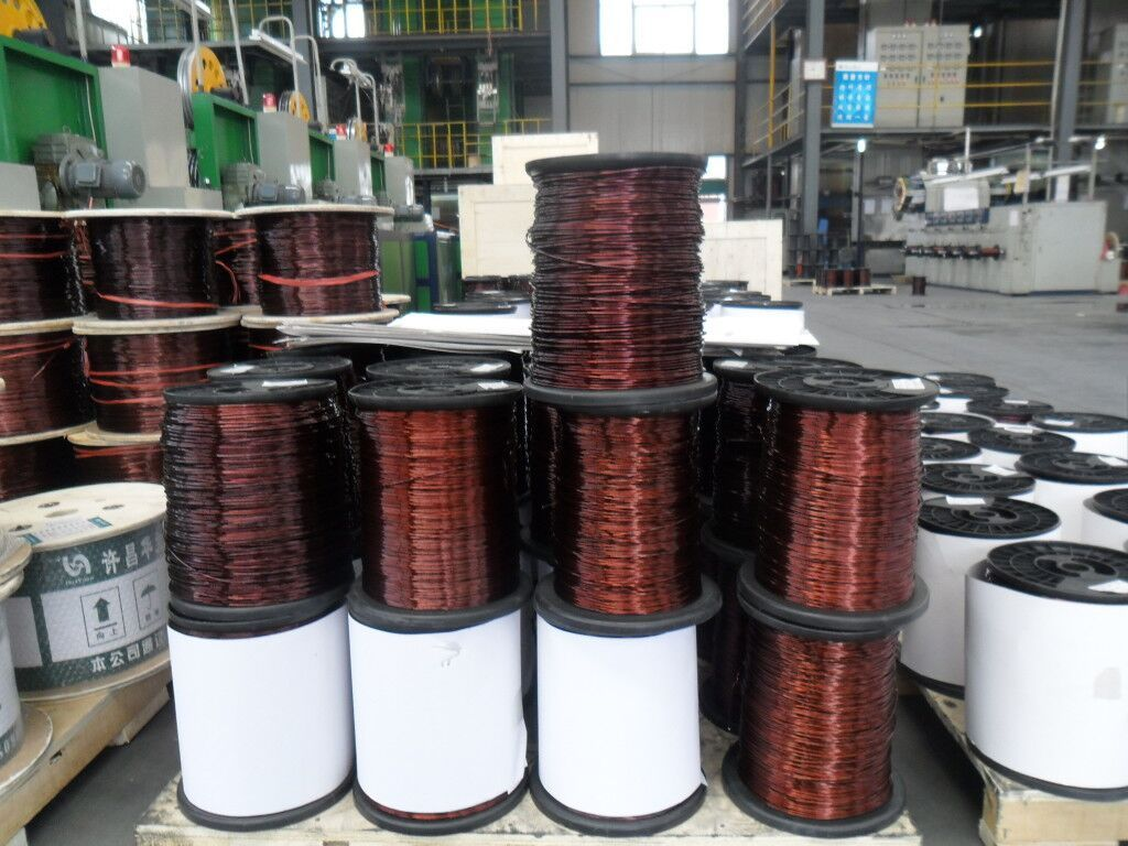 we can supply different kinds of enameled aluminum wire with ...