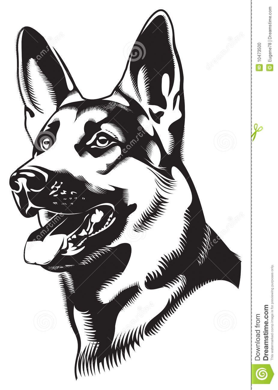 Dog Shepherd Download From Over 64 Million High Quality Stock Photos Images Vectors Sign Up For Fr Dog Stencil German Shepherd Art German Shepherd Colors [ 1300 x 926 Pixel ]