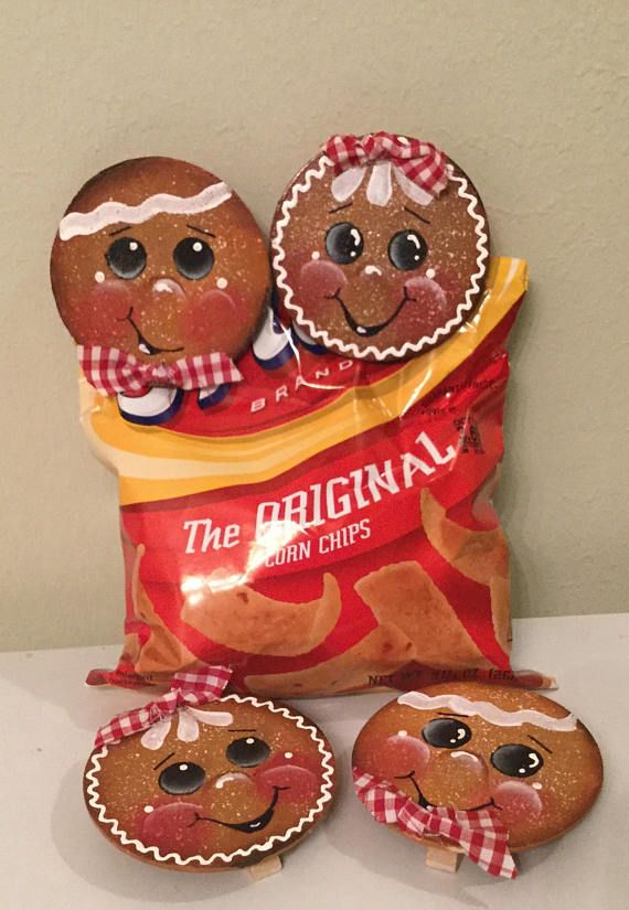 ~~Primitive Gingerbread shelf sitter w//fixins~Pattern #34~~