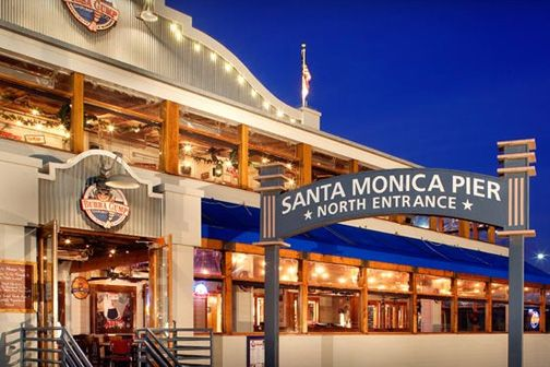 Bubba Gump Trips Pinterest Santa Monica Places And Places To Eat
