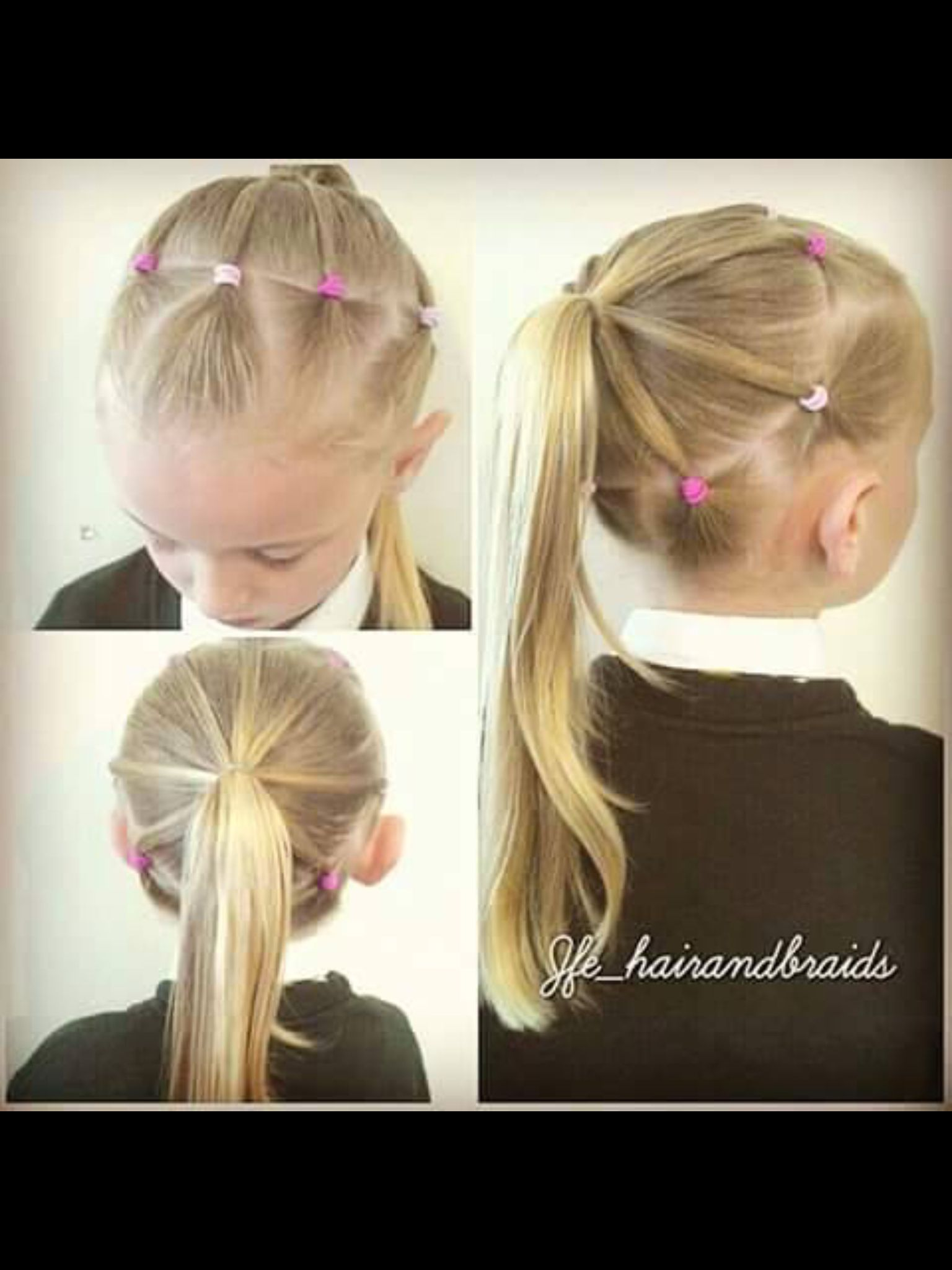 7 Coiffure Facile Little Girl Hair Hair Pinterest Coiffure Coiffure