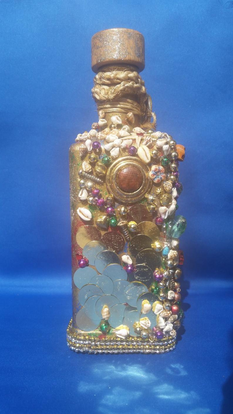 Handmade Embellished Perfume Bottle