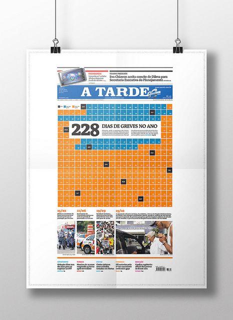 Capa Greve. Diagramação. Publicada em 26/10/2011