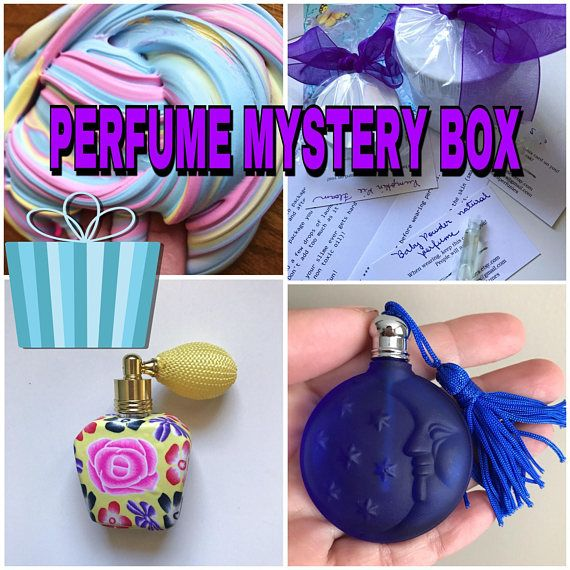 Surprise perfume box, mystery box, perfume gift for her