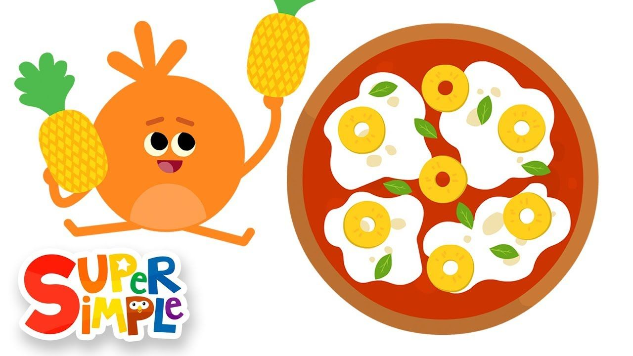 The Bumble Nums Make Spinning Pineapple Pizza Cartoon For Kids