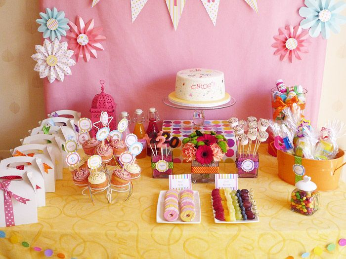 Idea for girls bday party