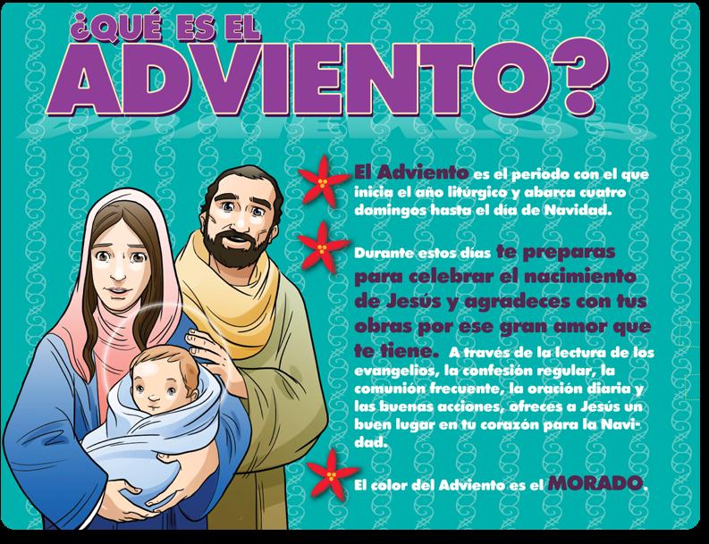 El Adviento Nos Preparamos Para El Nacimiento De Jesús Nacimiento De Jesus Adviento Corona De Adviento