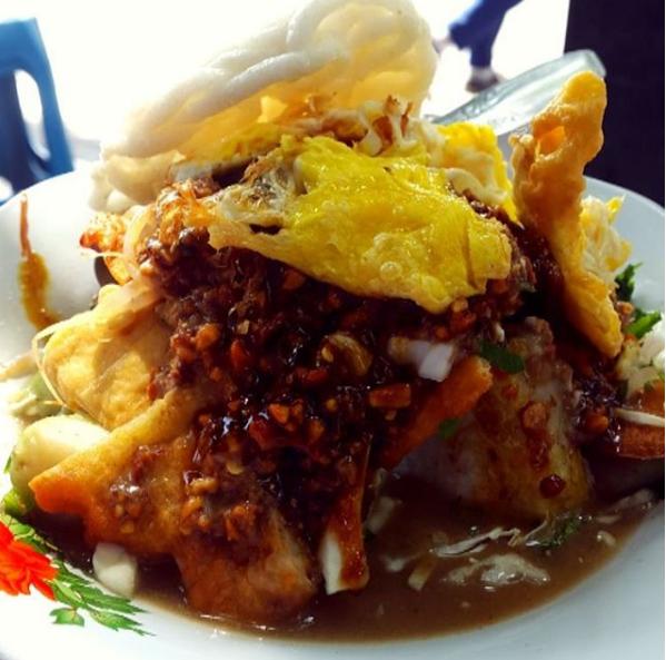 Resep Dan Bumbu Tahu Gimbal Khas Semarang Resep Ayam Resep Masakan Resep Tahu