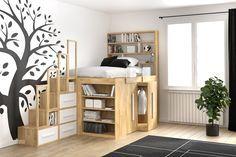 Camera Da Letto Legno Naturale : Armadio legno naturale unico interessante camere da letto in
