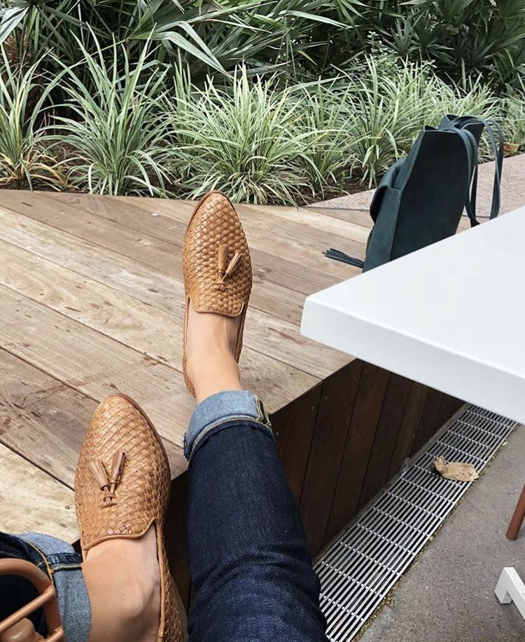 8f531324f967 Frida Smoking Loafer Woven Brown in 2019