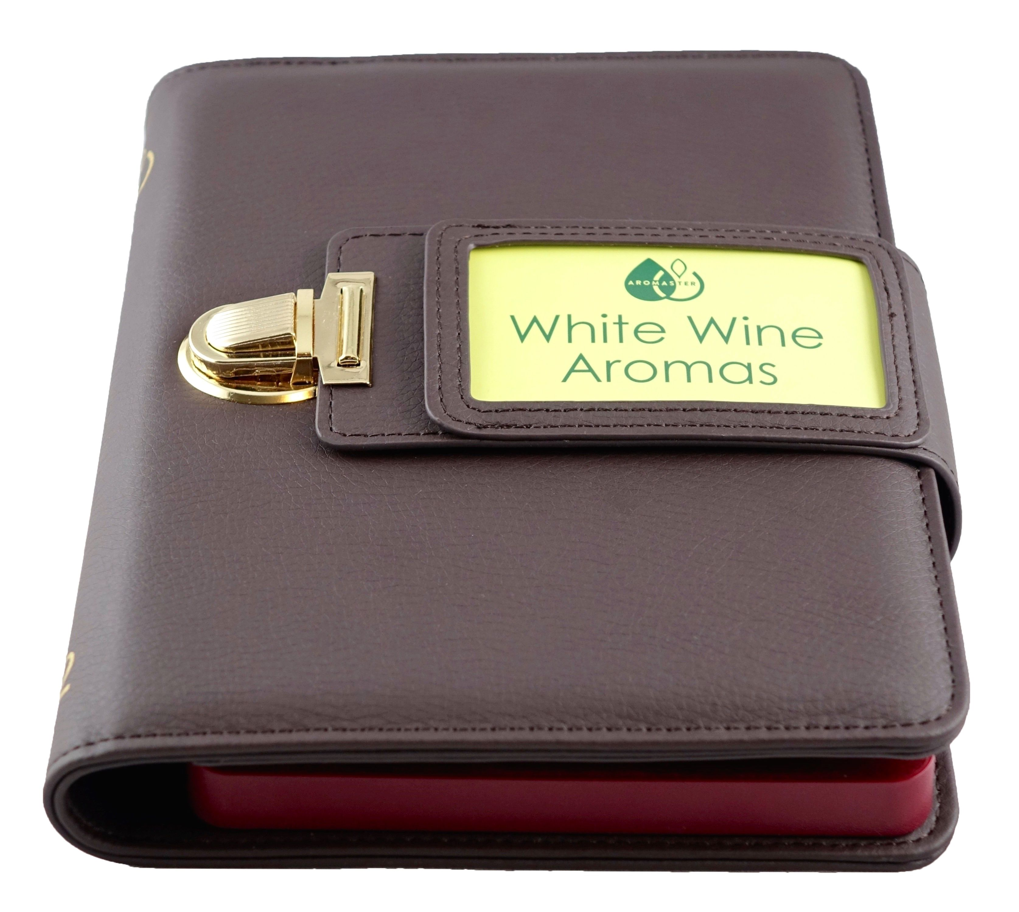 White Wine Aroma Kit 12 aromas for wine tasting by Aromaster