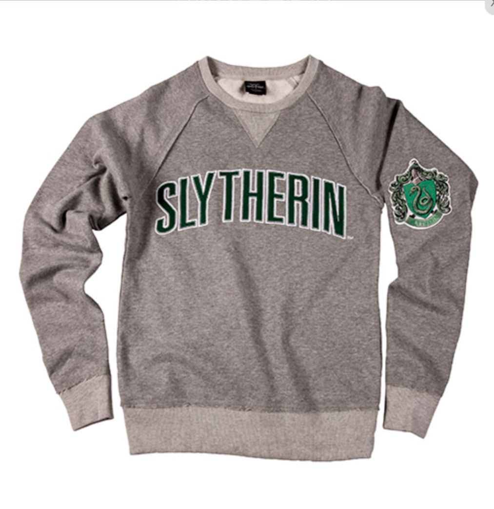 Pin By Tracy Horton On Funky Items Slytherin Clothes Harry Potter Outfits Sweatshirts [ 1043 x 1013 Pixel ]